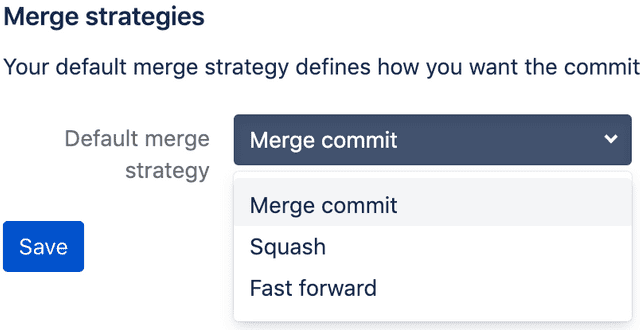 bitbucket merge
